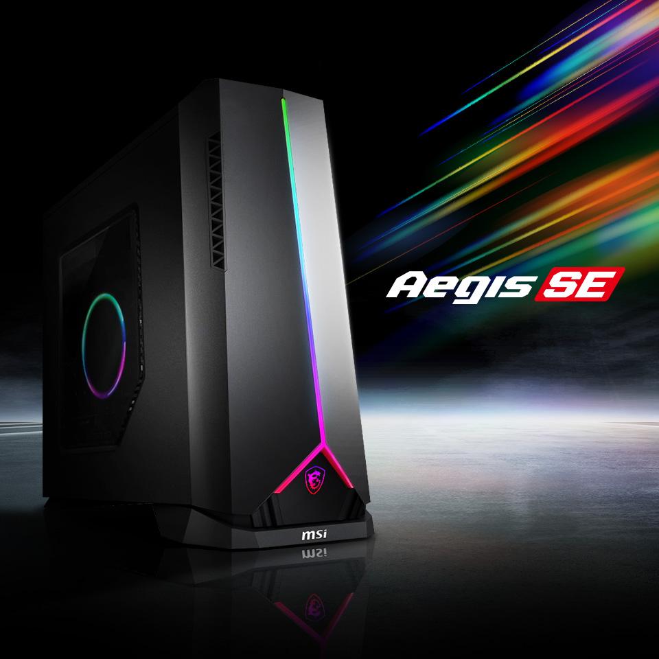 Aegis SE Series Gaming Desktop.