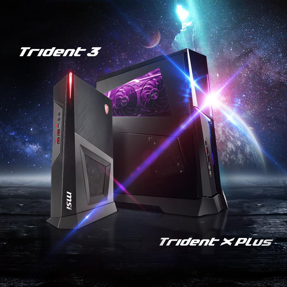 Trident 3 / Trident X Series Gaming Desktops.