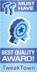Tweak Town Best Quality Award